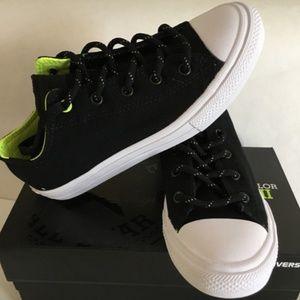 9c438b7dc603 Converse Shoes - Brand New Converse CTASII OX BLACK VOLT WHITE